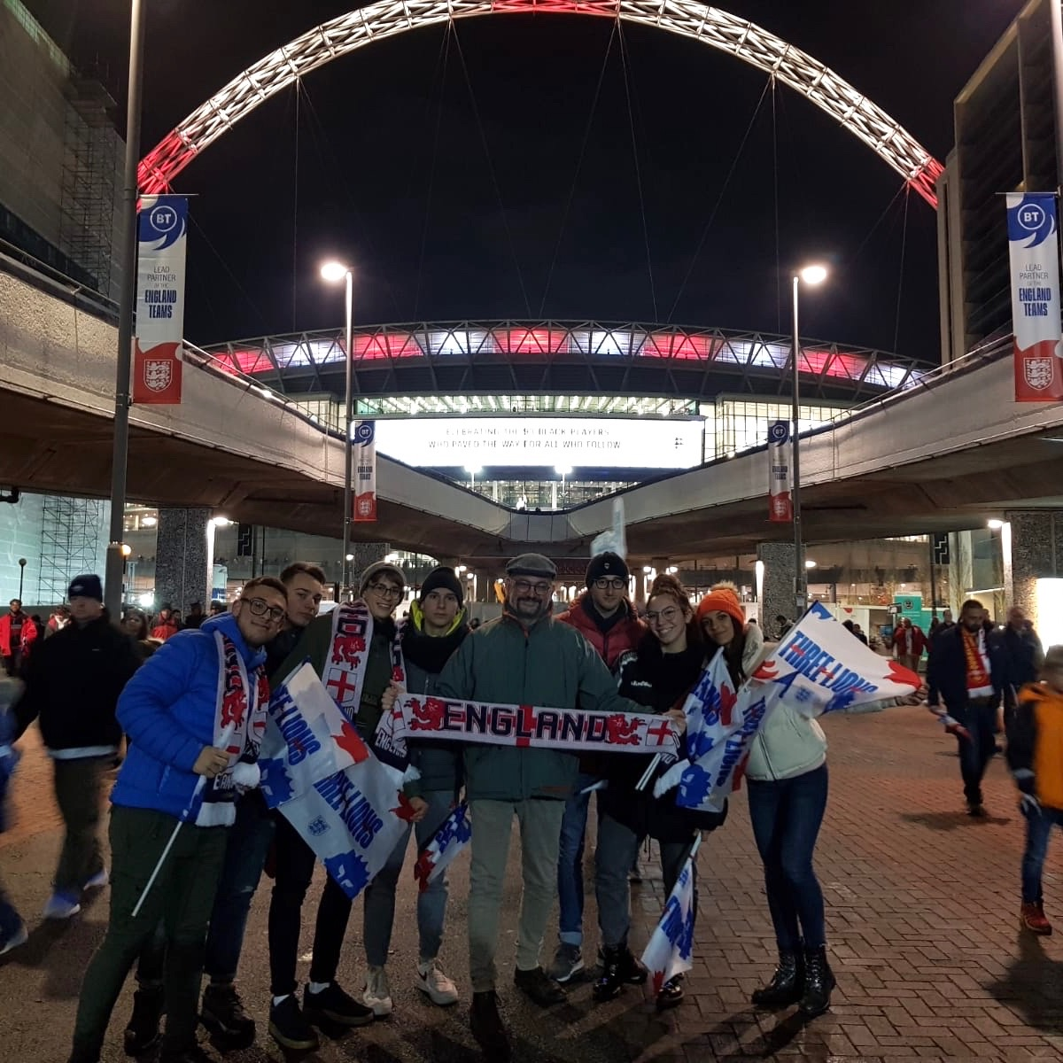 wembley out